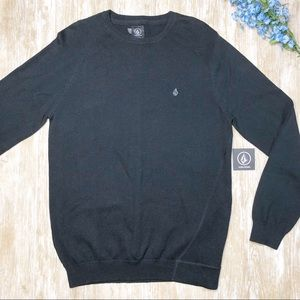 NWT {Volcom} Mens Understated Pullover Sweater